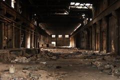 Ένα κενό παλαιό εργοστάσιο Στοκ εικόνες με δικαίωμα ελεύθερης χρήσης