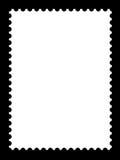 Ένα κενό πρότυπο γραμματοσήμων Στοκ εικόνες με δικαίωμα ελεύθερης χρήσης
