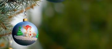 Ένα κομμάτι της διακόσμησης Χριστουγέννων Στοκ Φωτογραφίες