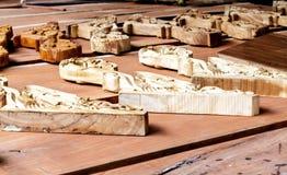 Ένα κομμάτι της ξύλινης γλυπτικής Στοκ Φωτογραφίες