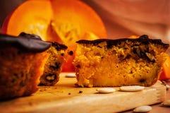 Ένα κομμάτι της πίτας pupkin στοκ φωτογραφίες με δικαίωμα ελεύθερης χρήσης