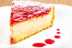 Ένα κομμάτι του κέικ φρούτων Στοκ φωτογραφία με δικαίωμα ελεύθερης χρήσης