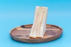 Ένα κομμάτι του σάντουιτς ζαμπόν Στοκ Εικόνες