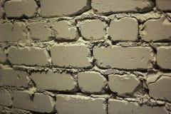 Ένα κομμάτι του τοίχου του άσπρου τούβλου στοκ φωτογραφία με δικαίωμα ελεύθερης χρήσης