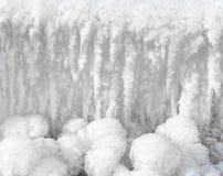 Ένα κρύο υπόβαθρο πάγου Στοκ Φωτογραφίες