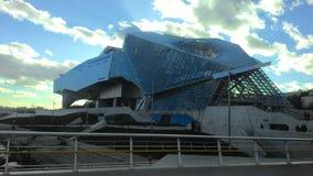Ένα κτήριο στη Λυών, Γαλλία Στοκ εικόνα με δικαίωμα ελεύθερης χρήσης