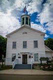 Ένα κυβερνητικό κτήριο στο νησί Mackinac, Μίτσιγκαν στοκ φωτογραφίες