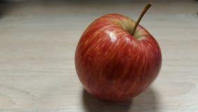 Ένα κόκκινο μήλο Στοκ Εικόνα