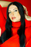 ένα κόκκινο Στοκ εικόνα με δικαίωμα ελεύθερης χρήσης
