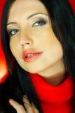 ένα κόκκινο Στοκ φωτογραφίες με δικαίωμα ελεύθερης χρήσης