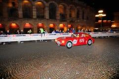 Ένα κόκκινο Ermini 1100 Berlinetta Στοκ φωτογραφία με δικαίωμα ελεύθερης χρήσης
