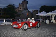 Ένα κόκκινο Maserati A6 Στοκ εικόνες με δικαίωμα ελεύθερης χρήσης