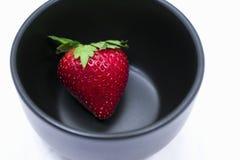 Ένα κύπελλο της φράουλας Στοκ εικόνα με δικαίωμα ελεύθερης χρήσης