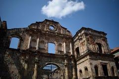 Ένα λείψανο στην πόλη του Παναμά στοκ εικόνες