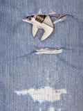 Ένα μέρος του εργαλείου πενσών με το παλαιό υπόβαθρο τζιν παντελόνι Στοκ φωτογραφίες με δικαίωμα ελεύθερης χρήσης
