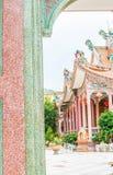 Ένα μέρος του κινεζικού ναού ύφους, Ταϊλάνδη Στοκ Φωτογραφίες