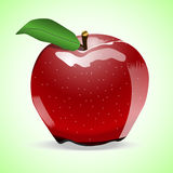 Ένα μήλο Στοκ φωτογραφίες με δικαίωμα ελεύθερης χρήσης