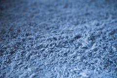 Ένα μαλακό μπλε, δέρας μικροϋπολογιστών βελούδου στοκ εικόνες με δικαίωμα ελεύθερης χρήσης