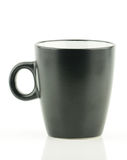 Μαύρο φλυτζάνι καφέ Στοκ εικόνες με δικαίωμα ελεύθερης χρήσης