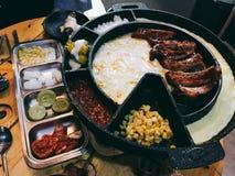 Ένα μεγάλο γεύμα στην Κορέα Στοκ εικόνες με δικαίωμα ελεύθερης χρήσης