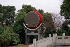 Ένα μεγάλο φάσμα τύμπανο-Qingyun Στοκ φωτογραφίες με δικαίωμα ελεύθερης χρήσης