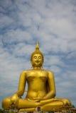 Ένα μεγάλο άγαλμα του Βούδα Στοκ εικόνες με δικαίωμα ελεύθερης χρήσης