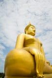 Ένα μεγάλο άγαλμα του Βούδα Στοκ Εικόνες