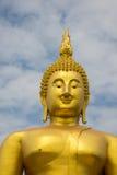 Ένα μεγάλο άγαλμα του Βούδα Στοκ Φωτογραφίες
