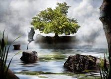Ιερό δέντρο Στοκ εικόνα με δικαίωμα ελεύθερης χρήσης