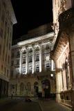 Ένα μηχανικό δίκυκλο σταθμεύουν σε μια οδό (Αυστρία) Στοκ φωτογραφίες με δικαίωμα ελεύθερης χρήσης