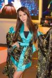 Ένα μη αναγνωρισμένο ιαπωνικό anime cosplay θέτει στο παιχνίδι Sho της Ταϊλάνδης Στοκ Φωτογραφίες