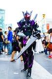 Ένα μη αναγνωρισμένο ιαπωνικό anime cosplay θέτει το ι Στοκ Φωτογραφία