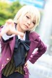 Ένα μη αναγνωρισμένο ιαπωνικό anime cosplay στον κεντρικό κόσμο σε Thail Στοκ φωτογραφία με δικαίωμα ελεύθερης χρήσης