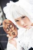 Ένα μη αναγνωρισμένο ιαπωνικό anime cosplay στον κεντρικό κόσμο σε Thail Στοκ φωτογραφίες με δικαίωμα ελεύθερης χρήσης