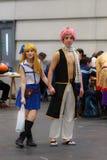 Ένα μη αναγνωρισμένο ιαπωνικό anime cosplay Στοκ φωτογραφία με δικαίωμα ελεύθερης χρήσης