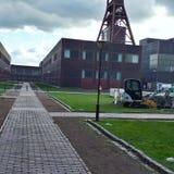 Ένα μη χρησιμοποιούμενο ανθρακωρυχείο στη Γερμανία Στοκ Εικόνες