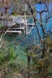 Ένα μικρό νησί στον ποταμό του ST Lawrence Στοκ Φωτογραφίες