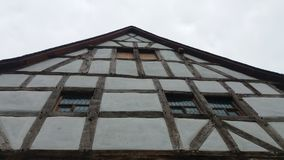 Ένα μισό-εφοδιασμένο με ξύλα σπίτι στοκ φωτογραφία με δικαίωμα ελεύθερης χρήσης