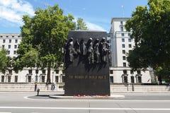 Ένα μνημείο για τις γυναίκες εξυπηρέτησε WWII Στοκ Εικόνα