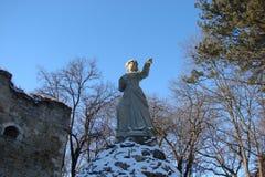 Ένα μνημείο κοντά στο ουκρανικό φρούριο Στοκ Φωτογραφίες