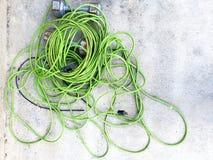 Ένα μπλεγμένο σκοινί ενός weedwhacker στοκ φωτογραφία με δικαίωμα ελεύθερης χρήσης