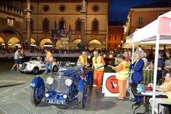 Ένα μπλε Άστον Martin Le Mans Στοκ Εικόνες