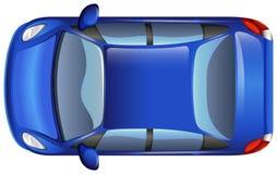 Ένα μπλε αυτοκίνητο Στοκ Εικόνες