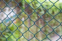 Ένα μπλε πλέγμα καλωδίων Στοκ εικόνες με δικαίωμα ελεύθερης χρήσης