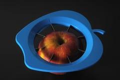 Ένα μπλε τέμνον εργαλείο Aplle Στοκ Εικόνα