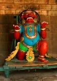 Ένα νέο είδωλο που καλείται vahana bhootha στον αρχαίο ναό Brihadisvara σε Thanjavur, Ινδία Στοκ Εικόνες
