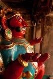 Ένα νέο είδωλο που καλείται vahana bhootha στον αρχαίο ναό Brihadisvara σε Thanjavur, Ινδία Στοκ εικόνα με δικαίωμα ελεύθερης χρήσης
