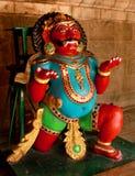 Ένα νέο είδωλο που καλείται vahana bhootha στον αρχαίο ναό Brihadisvara σε Thanjavur, Ινδία Στοκ Εικόνα