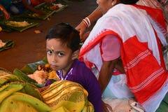 Ένα νέο ινδικό παιδί Στοκ φωτογραφία με δικαίωμα ελεύθερης χρήσης