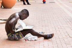 Ένα νέο κολομβιανό άτομο στην Καρχηδόνα Στοκ Φωτογραφίες